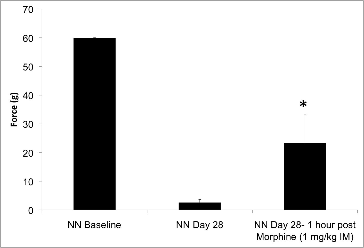 von frey in the neuritis neuropathy due to sciatic nerve injury in the pigs