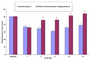 MIA-induced osteoarthritis, weight bearing, inflammatory pain, neuropathic pain, preclinical CRO